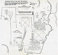Giza Archives Project Selected Overview Maps And Plans - Giza map
